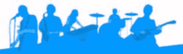 performing band silhouette