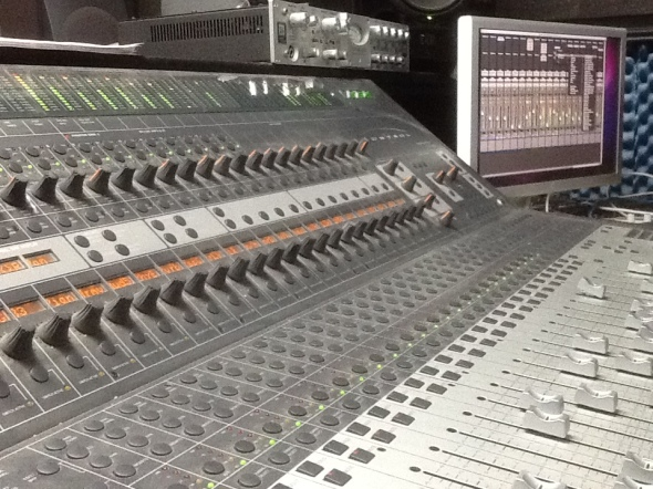 Nashville Trax Mixing Board Shot