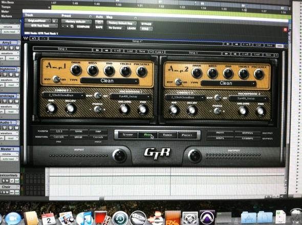 Waves Guitar Tool Kit : The Amp Window