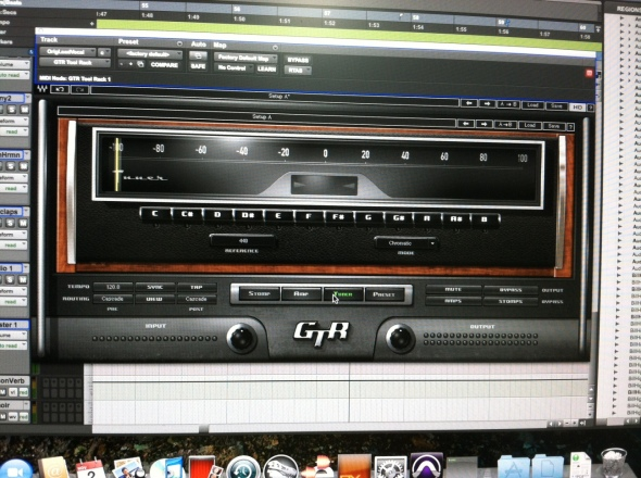 Waves Guitar Tool Kit : The Tuner Window