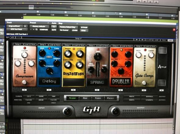 Waves Guitar Tool Kit : The Stompbox Window