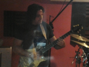 Mission 615 Guitarist, Tony Pizzino