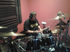 David Northrup (Oak Ridge Boys, Travis Tritt) on the NashVille Trax drum kit.