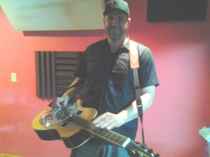 Kevin Post, Dobro player for country music recording artist Blake Shelton at Nashville Trax Recording Studio, Dobro Tracks Online
