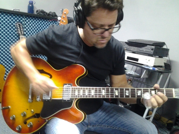 Nashville Session Guitar Player, Brent Mason at Nashville Trax Recording Studio