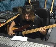 Band leader, Bill Watson, and his '78 Fender Precision Bass Guitar