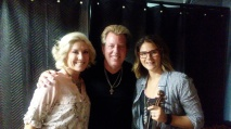 "The Swansons meet Nashville Trax' Jenee, who producer, Bill Watson calls ""the best fiddle player on the planet!"""